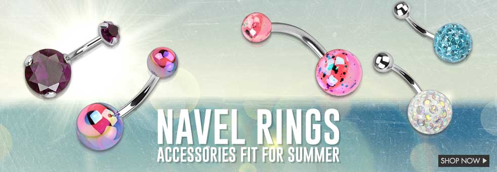 Navel Rings for Summer