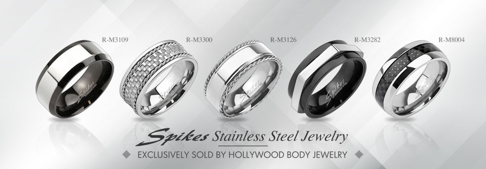 Exclusive Stainless Steel Jewelry by Spikes Steel Jewelry