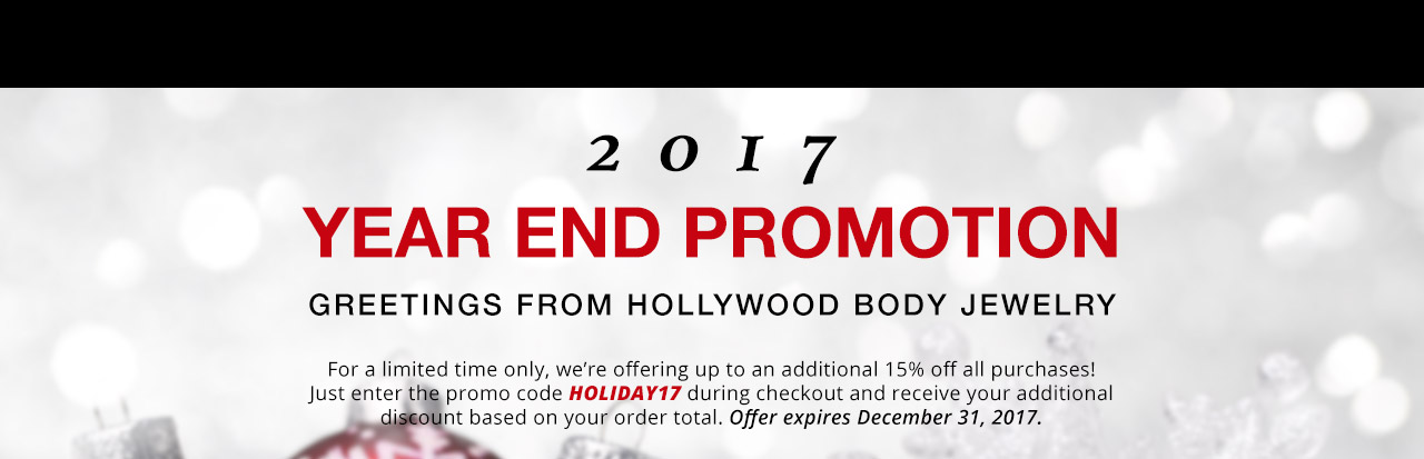 Year End Promotion
